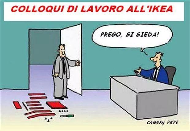 Luigi caruso for Ikea immagini divertenti