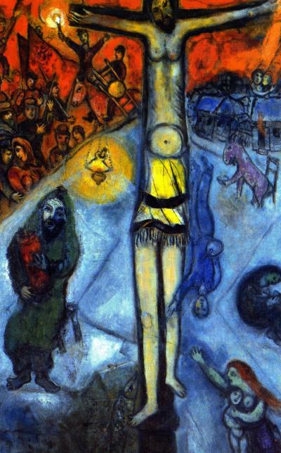 Resurrezione dipinto olio su tela 168,3x107,7)cm realizzato tra il 1937 ed il 1948 dal pittore Marc Chagall - È conservato nel Centre Pompidou di Parigi