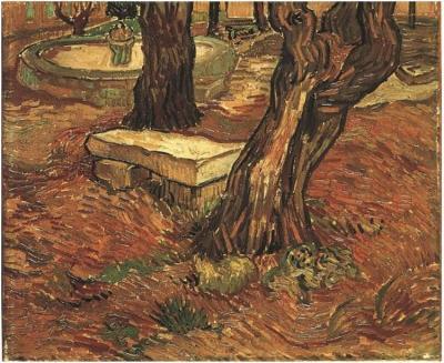 Dipinto, olio su tela - Saint-Rémy: Novembre 1889