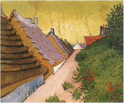 Dipinto, olio su tela - Arles: all'inizio di giugno 1888