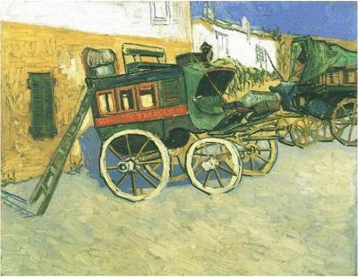 Dipinto, olio su tela - Arles: ottobre 1888