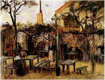 Dipinto, olio su tela - Parigi: Ottobre 1886