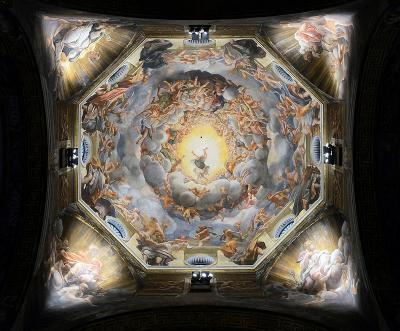 Assunzione della Vergine - affresco (1093x1155 cm alla base) di Correggio, databile al 1524-1530 circa e situato nella cupola sopra l'altare maggiore del Duomo di Parma.