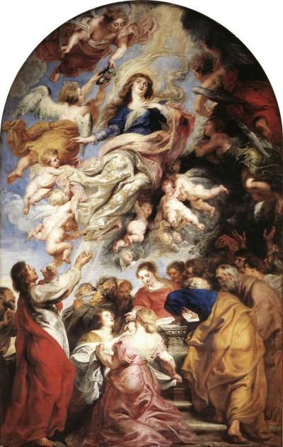 Assunzione della Vergine - tela dipinta a olio da Pieter Paul Rubens nel 1625-26 come Pala dell'altar maggiore della Cattedrale di Nostra Signora ad Anversa, nelle Fiandre, dov'è ancora conservata.