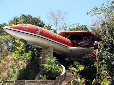 Dependance sopraelevata nella roccia - Costa Rica
