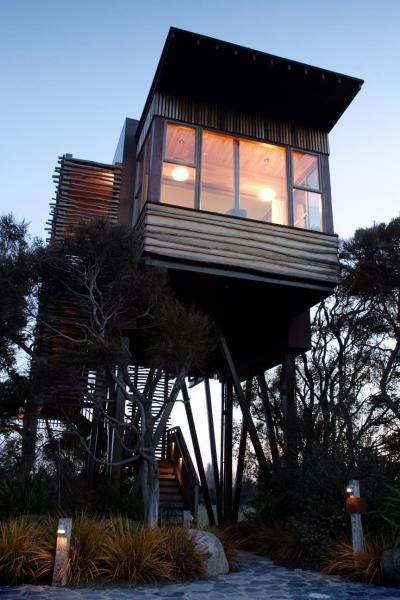 Casa sull'albero dell'Hotel Hapuku Lodge - Nuova Zelanda