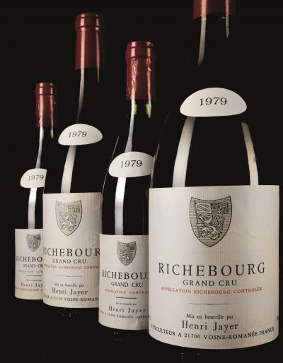 Henri Jayer Richebourg Grand Cru, Cote de Nuits, Francia Vino Rosso del 1979 - 16'193euro.