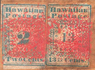 Nonostante l'economica carta blu su cui il francobollo Hawaiian Missionaries era stampato, si tratta dei francobolli più rari e più preziosi di tutti i tempi, adesso del valore di circa 39'000€. I francobolli Hawaiian Missionaries furono i primi ad essere prodotti alle Hawaii ed erano principalmente utilizzati nella corrispondenza tra missionari, da qui il loro nome.